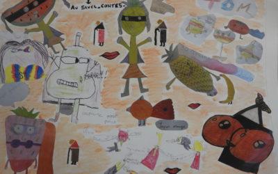 Échanges avec les enfants de l'école Ricolfi de Contes